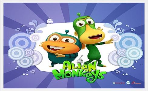 Vesmírne opice - Alien Monkeys